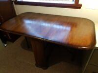 Table: Dropside, gate-leg wood veneer