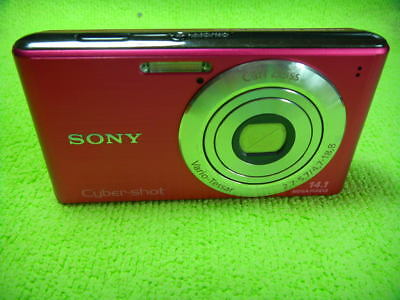 SONY CYBER-SHOT DSC-W530 14.1 MEGA PIXELS DIGITAL CAMERA PINK for sale  Shipping to India