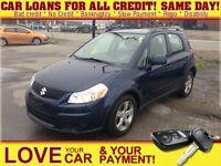 2010 Suzuki SX4 JX * CAR LOANS w/ $0 DOWN OPTION
