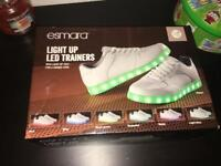 Light up led trainers