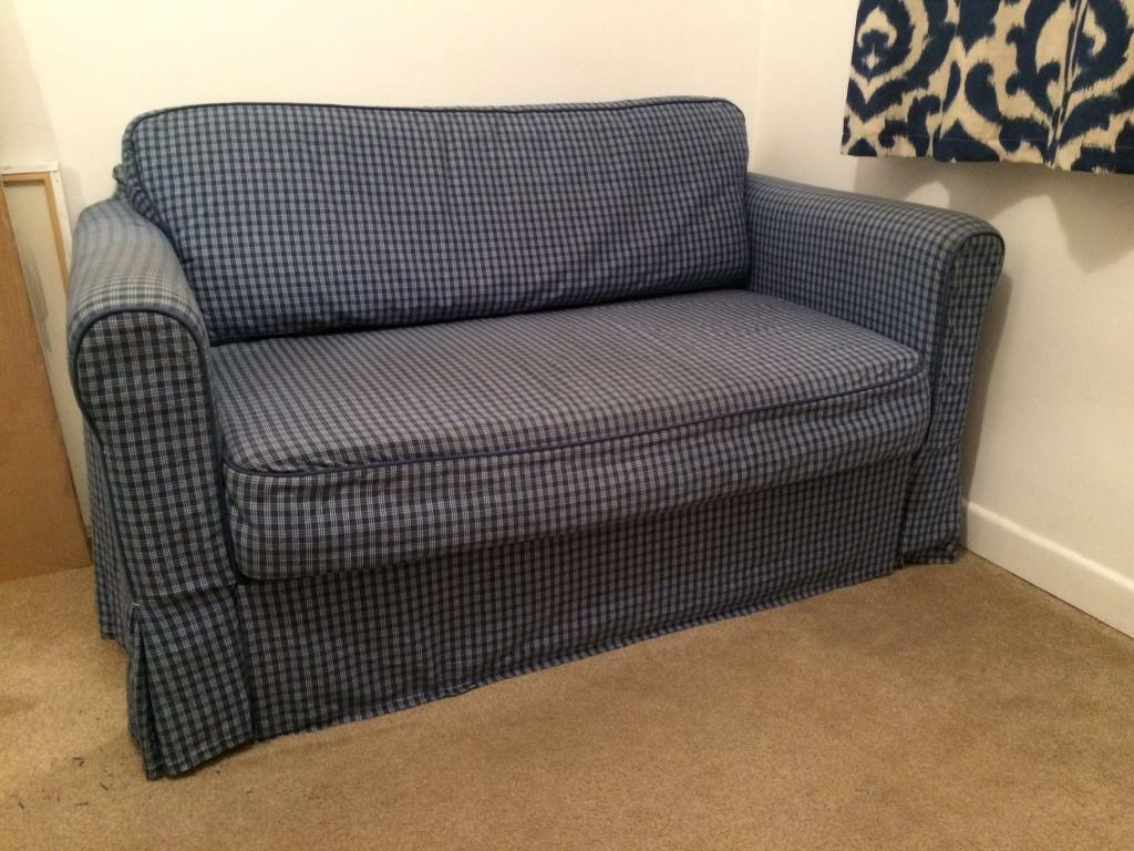 Ikea hagalund sofa bed in waterlooville hampshire gumtree for Sofa bed 70 off