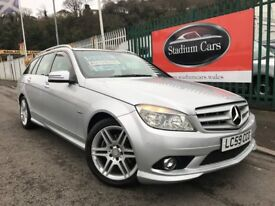 2009 (59 reg) Mercedes-Benz C Class 2.1 C250 CDI BlueEFFICIENCY Sport Estate Automatic Turbo Diesel