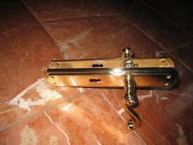 BRASS DOOR HANDLES(EXCELLENT CONDITION)
