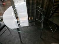 Glass Dining Table