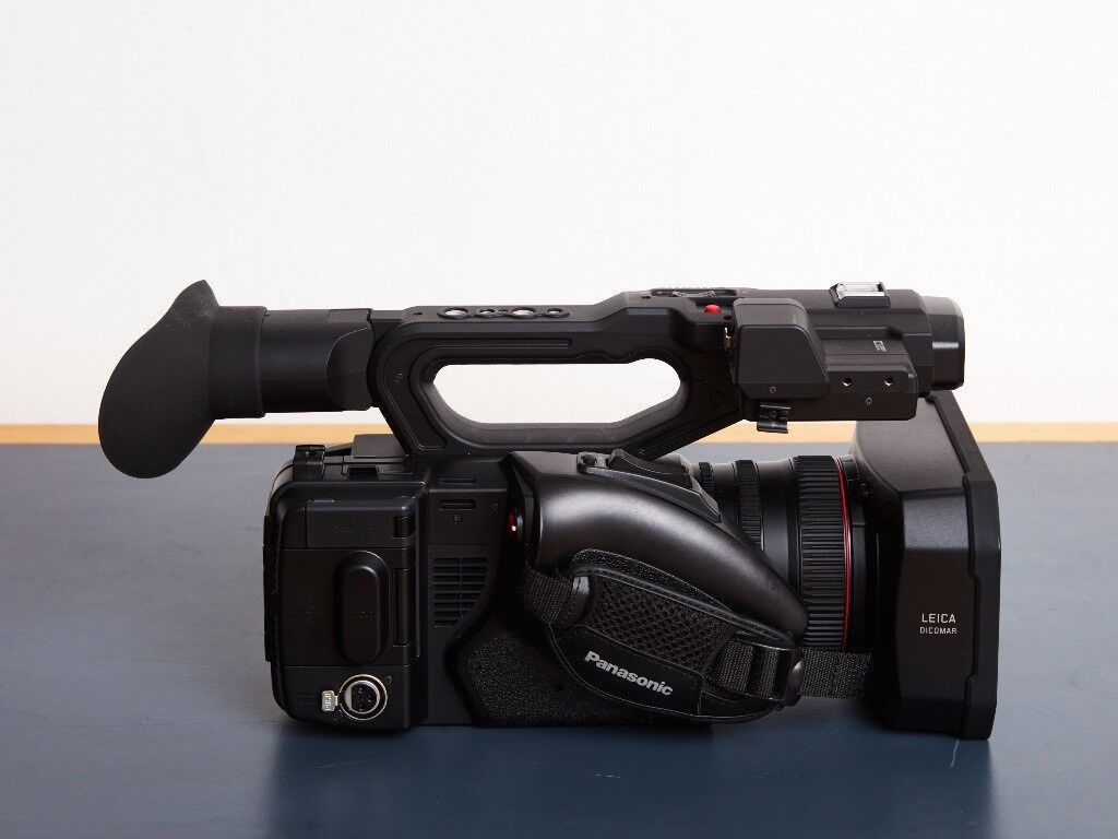 Panasonic 4K HC-X1E Professional Camcorder - Only used for one interview project