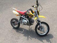 110 big wheeled pit bike