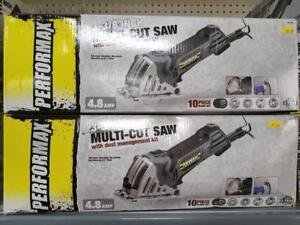 3-3/8 Multi-Cut Saw 4.8 AMP 1 Cut @ 90 D