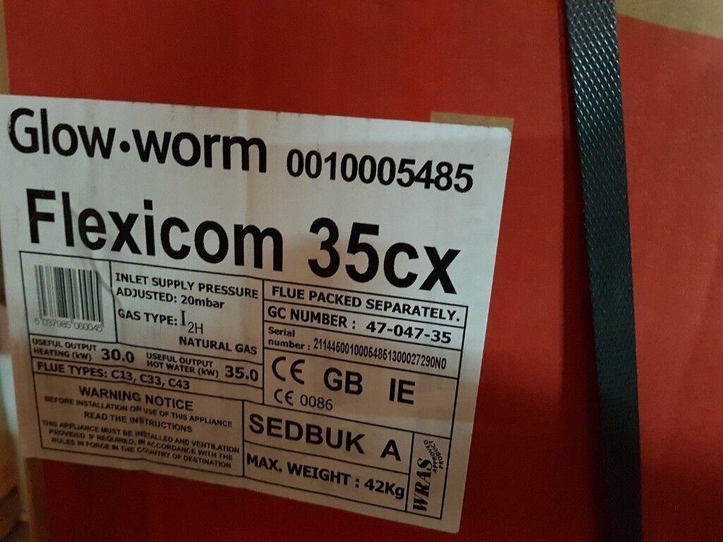 Glow-Worm Flexicom 35CX Natural Gas Combination Boiler 10005485 | in ...