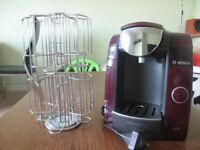 Tassimo Coffee Machine with cups holder