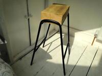 Industrial Style Kitchen Bar Stool Chair / Furniture