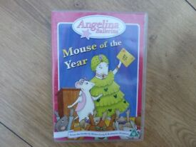 Children's DVD: Angelina Ballerina - Mouse of the Year - as new, ideal present