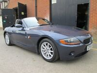 2005 BMW Z4 CONVERTIBLE AUTOMATIC SAT NAV 1 OWNER FROM NEW Part exchange available / Cards accepted