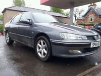 Peugeot 406 HDI Long MOT, damaged body sold for spare or repairs