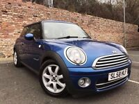 MINI HATCH COOPER 1.6 D, DIESEL, 1 LADY OWNER, FSH, CHEAP TO RUN (not a 116, golf, astra, a3)