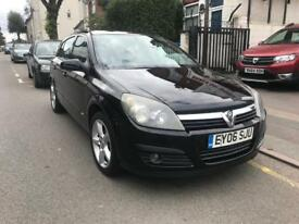 2006 VAUXHALL ASTRA SRI+ 5 DOOR. ALLOY WHEELS. A/C. STARTS AND DRIVE GOOD