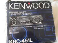 Kenwood Stereo cassette player