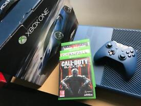 XBOX one 1TB Forza edition, 4 games