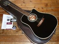 Takamine EF34 18CX dreadnought electro acoustic 2002 made in Japan
