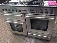 Rangemaster Range gas cooker 100cm..Ex display Mint free delivery