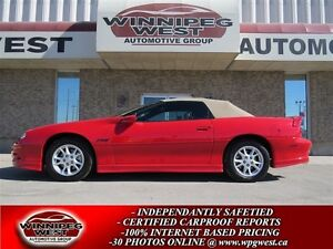 2001 Chevrolet Camaro Bright Red Z28 Convertible, Loaded, Like N