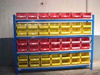 All storage bins / lin bins wanted ( pallet racking , storage )