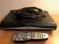SKY+ HD BOX WITH REMOTE CONTROL, VERY GOOD CONDITION