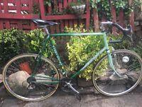 Vintage Harry Quinn gents racing bike 21 speed 25 inch frame 531 inch wheels 27 wheels