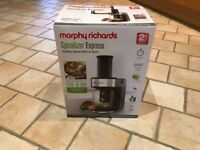 Morphy Richards Spiralizer as new