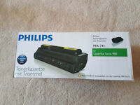 Genuine Black Philips PFA741 Toner Cartridge - (PFA-741) for Laserfax Series 900