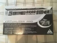 Virtualizer pro DSP204P, Behringer, 24-bit effects unit