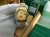 LADIES Rolex Datejust Golden Dial