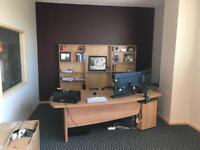 Executive Beach Desk with Draws