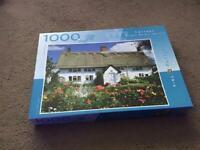 1,000 piece Norfolk Village jigsaw puzzle