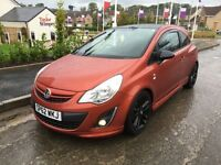 2012 62 VAUXHALL CORSA 1.2 LIMITED EDITION, ONLY 33,000 MILES F,S,H MINT COND