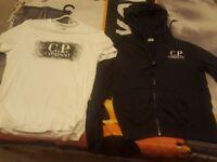 cp company hoody/t shiry