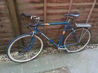 Peugeot road bike, recently refurbished