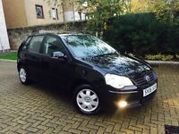 VOLKSWAGEN POLO 1.4 S 75 2006 REGISTERED LOW MILEAGE ONLY 53000 MOT 1 YEAR