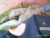 Mens shirts joblot. 32 in bundle. High quality including DKNY, Ben Sherman, T M Lewin, Wrangler etc