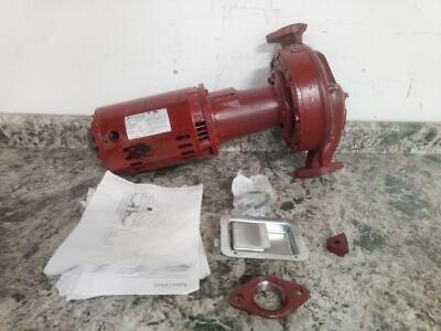 Bell Gossett E617t 1-12 Hp 1750 Rpm 208-230460vac Hot Water Circulating Pump