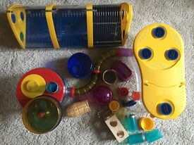 Rotastak hamster cage & accessories in great condition