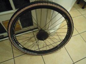 26 inch Rear mountain bike disc brake wheel 9 speed