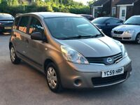 NISSAN NOTE VISIA AUTOMATIC 1.6 PETROL 2009 **MINT*CHEAP*BARGAIN*PX TO CLEAR**
