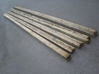 ROOF LATHES 5 BUNDLES 4.2M LONG 50 LENGTHS 210M IN TOTAL 19MMX38MM
