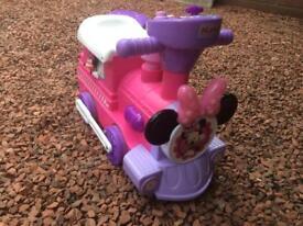 Minnie Mouse Disney electric train