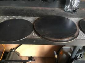 Round steel plates