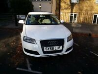 AUDI A3. WHITE LADY OWNER. CLEAN..