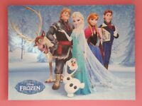 Disney Frozen Canvas - Collection Only.