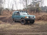 Land rover discovery 300tdi manual offroad 4x4 lifted