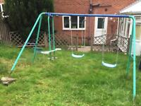Kids Play Sing Excellent for Garden 3 Set Swing (Free Local Delivery)