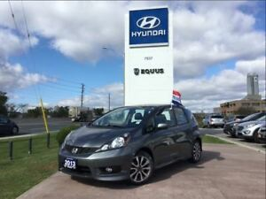 2013 Honda Fit Sport - REMOTE STARTER, ONE OWNER